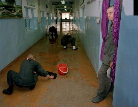 Зековский тюремный секс
