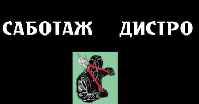 Открытие нового анархического дистро