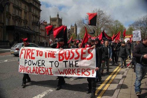 Развитие анархо-синдикализма в Бангладеш
