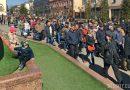 В Бресте сотни человек вышли на протест и не позволяли шунявкам задержать активистов