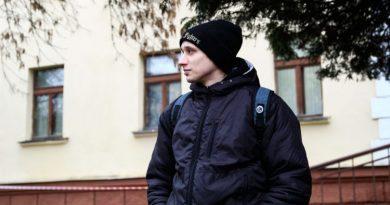 На анархиста Полиенко возбуждено уголовное дело за оскорбление милиционера.