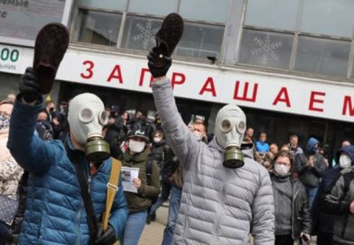 Escalation of political struggle in Belarus in last months in wake of president elections