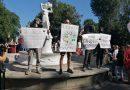 Анархисты приняли участие в предвыборном пикете в Барановичах