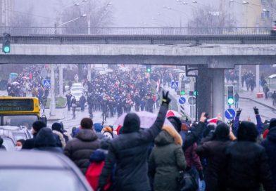 Децентрализованные протесты тормозят репрессивную машину