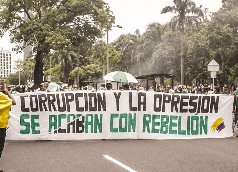 «Коррупция и угнетение уничтожаются восстанием».